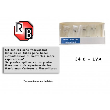Kit frecuencias Binarias